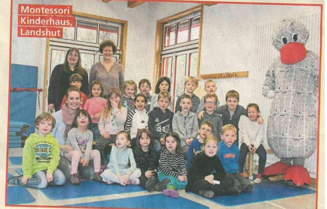 ZIK- das Projekt der Landshuter Zeitung für Vorschulkinder