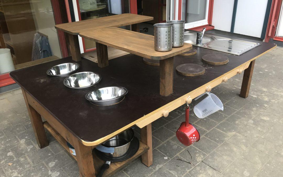 Unsere neue Matschküche